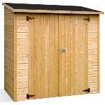 Jardipolys Lausanne - Abri de jardin en bois 12 mm 1,4 m2