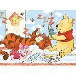 Trefl Puzzle Winnie lit l'histoire du soir à Tigrou 30 pièces