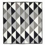 Ferm Living Couvre -lit Remix en coton (235 x 245 cm)