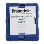 Finlandek Kylpy - 4 serviettes invités (32 x 50 cm)