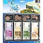 Bg Billets et pièces de monnaie pour jeu de la marchande