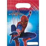 Manège 6 sachets cadeaux Amazing Spiderman 2