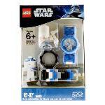 Lego 9001758 - Montre pour enfant Star Wars R2D2 avec jouet de construction