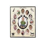 Hama 65133 - Pêle-mêle Baby Galerie 1 photo de 9x13 en métal
