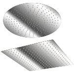 Aquamarin RDKP-Q - Douche de pluie forme carrée (40 x 40 cm)