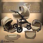 Ferriley & Fitz Easyone - Poussette combinée avec nacelle et siège auto cosy
