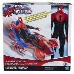 Hasbro Figurine Spider-man 30 cm + véhicule