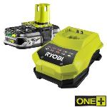 Ryobi RBC18L15 - Batterie Lithium-Ion 1,5 Ah + super chargeur 18V One+