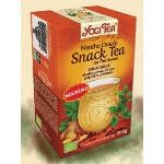 Yogi Tea Snack Tea - Infusion ayurvédique Bio au thé noir, menthe poivrée, gingembre et schisandra