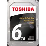 """Toshiba HDWN160UZSVA - Disque dur interne 6 To 3.5"""" SATA III"""