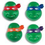 4 masques Tortues Ninja