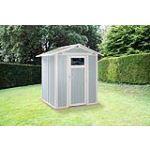 Grosfillex Utility 3B - Abri de jardin en PVC 2,47 m2