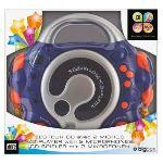 Bigben Interactive Lecteur radio / CD avec 2 micros