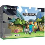 Microsoft Console Xbox One S 500Go + Minecraft