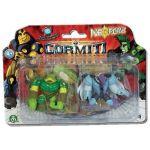 Giochi Preziosi 2 figurines Gormiti avec leur carte