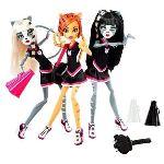 Mattel Monster High Purrsephone, Toralei et Meowlody