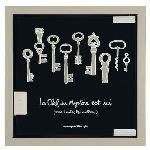Derrière la porte Armoire à clés Mystère