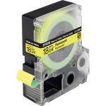 Epson LC-5YBF9 - Bande fluorescente noir sur jaune 1,8 cm x 9 m