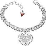 Guess UBB11427 - Bracelet Coeur ajouré pour femme