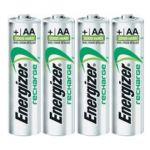 Energizer Accu Recharge Power Plus - Blister 4 accus HR06 2000 mAh