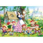 Castorland Blanche Neige et les 7 nains - Mini puzzle 54 pièces