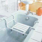Siège de bain en aluminium