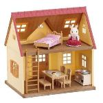 Epoch Sylvanian Families 2778 - Set cottage cozy et fillette lapin