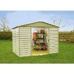 Yardmaster 1012SL - Abri de jardin en métal 11,39 m2