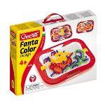 Quercetti Jeu de mosaïques - Fantacolor Design 0902 (300 clous)
