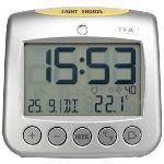 TFA Dostmann TFA 60.2514 - Horloge radio pilotée Sonio avec réveil
