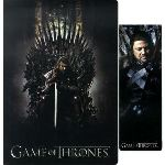 SD Toys Game of Thrones - Cahier et marque page Ned Stark