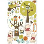 Babycalin Stickers Winnie l'Ourson Woodland