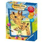 Ravensburger Peinture au numéro - Junior : Les deux girafes