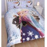 Character World La Reine Des Neiges - Parure de lit réversible (200 x 200 cm)