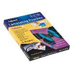 Fellowes 100 pochettes de plastification à chaud Peel & Stick format A4 (80 µ)