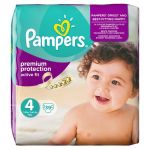 Pampers Active Fit taille 4 Maxi 7-18 kg - 39 couches
