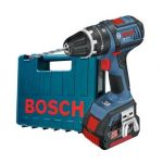 Bosch Professional GSB18V-LI1 - Perceuse-visseuse à percussion batterie 18V et coffret PVC