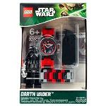 Lego 9001765 - Montre pour enfant Star Wars Dark Vador avec jouet de construction
