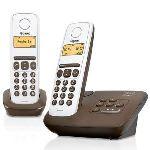 Gigaset AL130A Duo - Téléphone sans fil avec répondeur 2 combinés