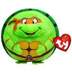 Ty Beanie Ballz Tortue Ninja : Michelangelo masque orange 12 cm