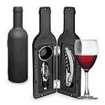 La Chaise Longue Caisse vin forme bouteille 3 pièces