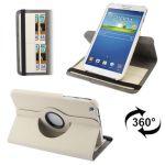 """Yonis Housse Samsung Galaxy Tab 3 SM T3100 étui 8"""" 360° Chic"""