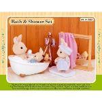 Epoch Sylvanian Families 3562 - Ensemble baignoire et douche