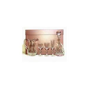 Cristal de paris 20 pièces service de verre à pied Macon taillé