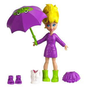 Mattel Polly Pocket - Jour de pluie