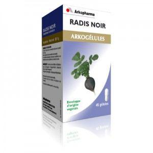 Arkopharma Arkogélules Radis Noir - Contribue à faciliter la digestion