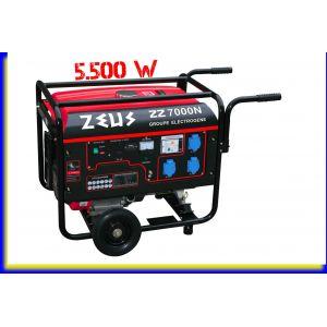 Zeus 7000N - Groupe électrogène 4 temps 5500W