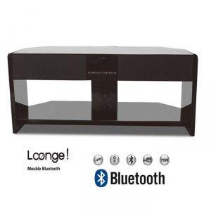Oxygen Loonge Meuble TV bluetooth enceintes intégrées 2.1
