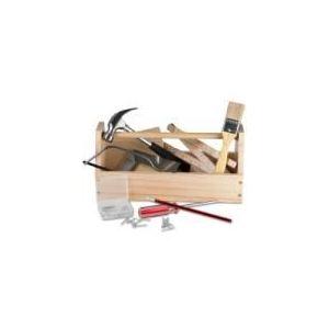 Glow2B Boîte à outils en bois pour enfant