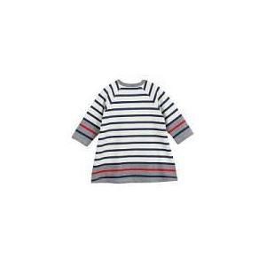 Petit Bateau Robe fille manches longues en tricot (12 mois)